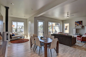 Every townhome floor plan includes a multi-purpose terrace.